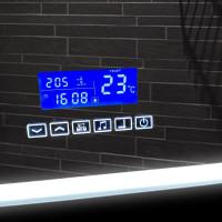 Зеркало с сенсорной подсветкой и музыкой в ванную комнату Паркер